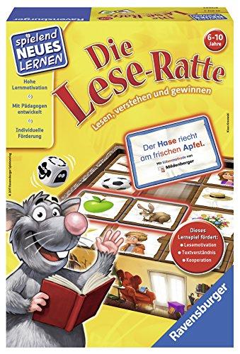Ravensburger-25013-Die-Lese-Ratte-Lernspiel Ravensburger 25013 – Die Lese-Ratte – Lernspiel -