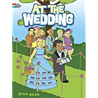 At the Wedding (Dover Coloring Books) by
