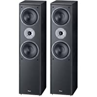 MAGNAT Monitor Supreme 802 Coppia Diffusori da Pavimento, 3 Vie Bass Reflex, Colore Nero