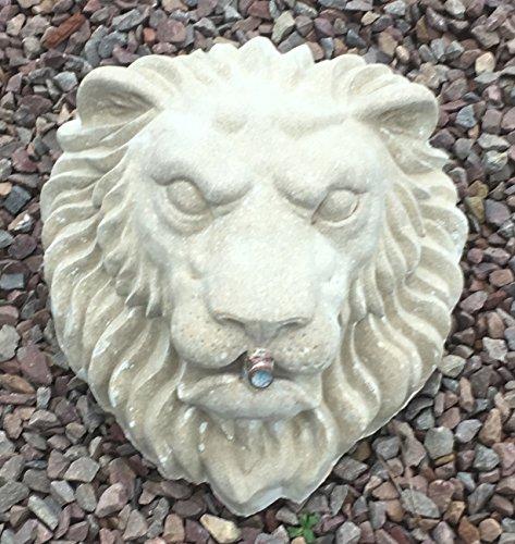 Block Kopf (Löwe Kopf auf dem Block Wasser Brunnen/Besonderheit für den Garten)