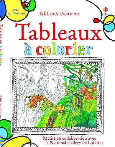 Tableaux  colorier