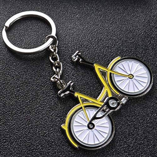 WeishenG Wert Kunst Bejeweled Vintage Fahrrad Schlüsselanhänger, 4.25 Zoll Lang - Bild Farbe Bejeweled Damen