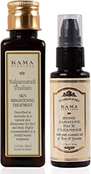 Kama Ayurveda Rose and Jasmine Face Cleanse