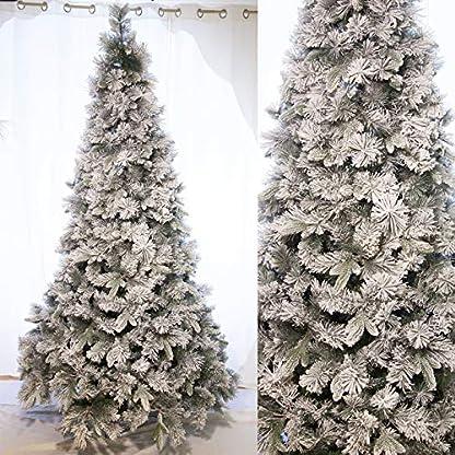 Party Store Web by Hogar Dulce Hogar árbol de Navidad nevado Blanco Abeto MAGNIFICA de cm. decoración de Navidad