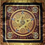 Tovaglia magica Wicca Earth Star - Magic Power della dimensione 24x24 terrestre media
