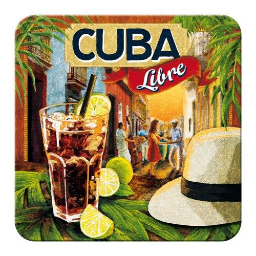 Nostalgic-Art 46126 Bier und Spirituosen Cuba Libre, Untersetzer -