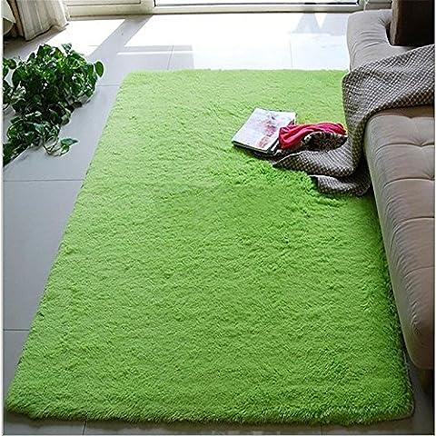New day-Ultra - suave seda largo - haired salón mesa alfombra dormitorio alfombra no - alfombras esteras , fruit green , 160*230cm