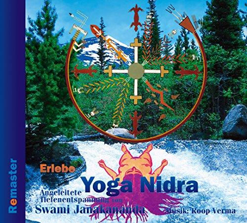 Erlebe Yoga Nidra - Angeleitete Tiefenentspannung (Remaster): CD mit 24-seitigem Begleitbuch über Yoga Nidra - Spielzeit 79 Minuten