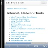 ETI Online Tools