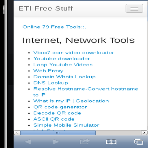 ETI Online Tools: Amazon co uk: Appstore for Android