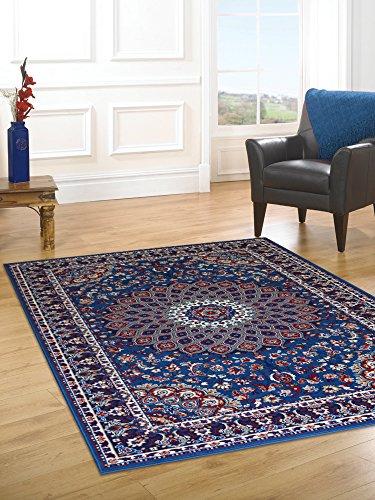 Alfombra barata estilo persa Alfombra clasica azul ROYAL SHIRAZ 2082-L