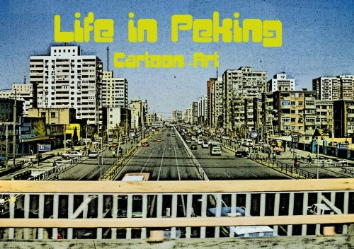 life-in-peking-cartoon-art-tischaufsteller-din-a5-quer