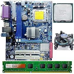 Intel Core 2 Duo E8400 3.0 GHZ + Intel G41 Zebronics Motherboard + 4 GB DDR3 Dolgix RAM