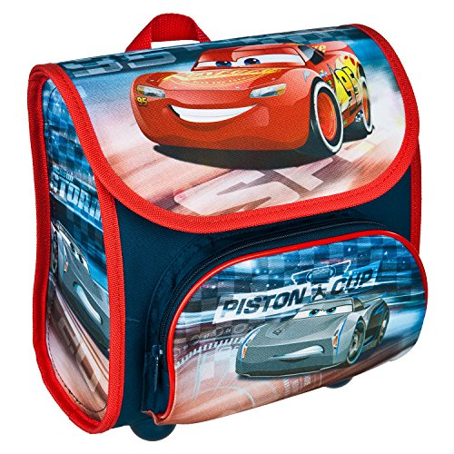Scooli Vorschulranzen Cutie, Disney Pixar Cars, Kinder-Rucksack, 23 cm, 4,5 L, Blau