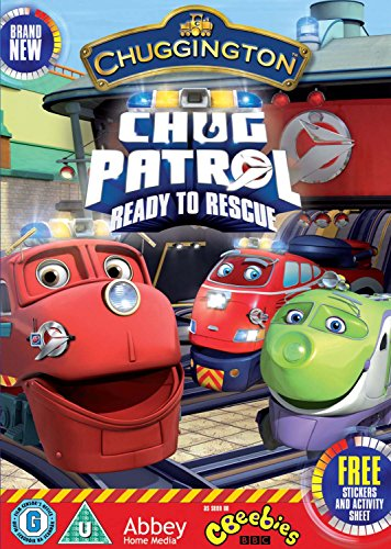 Image of ALL NEW Chuggington - Chug Patrol : Ready To The Rescue - INCLUDES FREE STICKERS AND ACTIVITY SHEET [DVD]