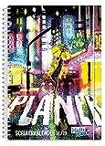Die besten Agenda Planer - Häfft PLANER Premium A5 2018/2019 [Raindance] Spiralbindung mit Bewertungen