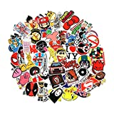 Baybuy 7 Series Stickers 100pcs/pack Variety Vinyl Car Sticker Motorcycle Bicycle Luggage Decal Graffiti Patches Skateboard Stickers for Laptop Stickers (series F)
