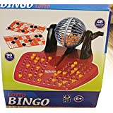 Jeu de bingo loto avec distributeur de boules - jeu de societe