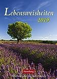 Lebensweisheiten - Kalender 2019 - Harenberg-Verlag - Wochenkalender mit Zitaten - 16,5 cm x 23 cm