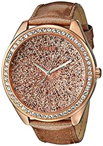 GUESS Rose Or-Tons Dazzling Sport Montre