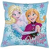 P: os 24562Cojín Disney Frozen–Invierno Magic, aprox. 35x 35cm, 100% poliéster
