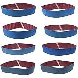 8 Stück Schleifbänder Bandschleifer Schleifband WCIC Aluminiumoxid Scharniere Körnung P80 P120 P150 P180 P240 P320 P800…