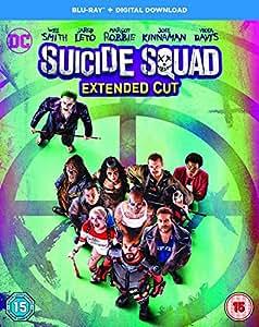 Suicide Squad [Includes Digital Download] [Blu-ray] [2016] [Region Free]