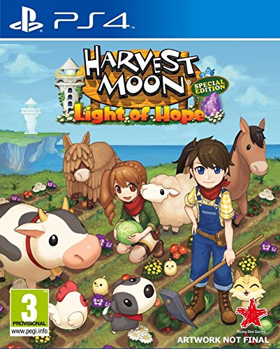 Harvest Moon: Light of Hope Collector's Edition (PS4) Best Price and Cheapest