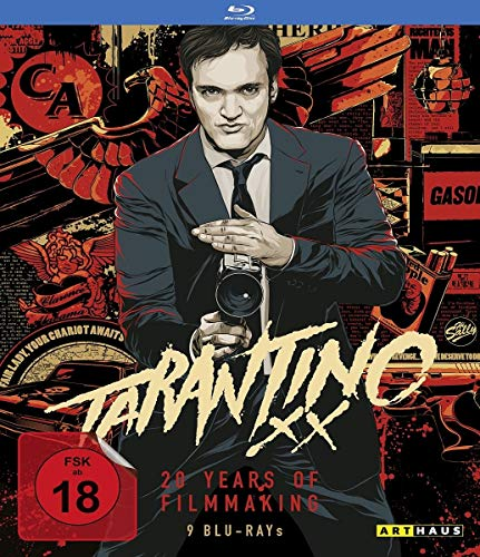 Tarantino XX: 20 Years of Filmmaking (Reservoir Dogs/True Romance/Pulp Fiction/Jackie Brown/Kill Bill, Vol. 1/Kill Bill, Vol.2/Death Proof/Inglorious Basterds) [9 Blu-rays]