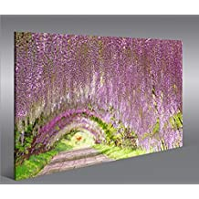 Cuadro en Lienzo Japanischer Zen Garten V3 1p Impresión sobre lienzo - Formato Grande - Cuadros modernos