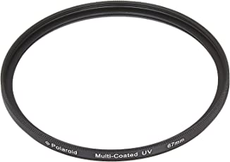 Polaroid Optics 67mm Multi-Coated UV Protective Filter