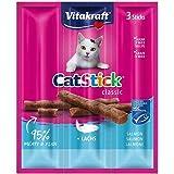 Vitakraft Cat Stick Mini Salmon And Trout X 3, 18 Gm