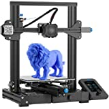 Creality Ender 3 V2 2021 FDM 3D Printer | Silent Motherboard Meanwell Power Supply | Carborundum Glass Bed | Color Display |