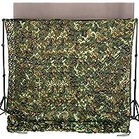 Ginsco 2m x 3m Waldlandschaft Camouflage Netz Tarnnetz Camonet Woodland Tarnung Camo Jagd Outdoor