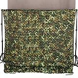 Ginsco 2m x 3m rete mimetica per tenda da campeggio militare,...