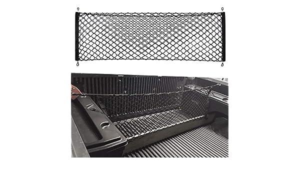 VCiiC Envelope Trunk Cargo Net for Chevrolet Silverado 1500 2500 3500