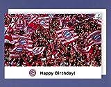 FC Bayern Geburtstagskarte Happy Birthday! Mia san mia