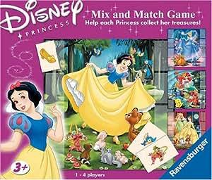 Disney Princess Mix & Match Game