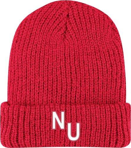 Nebraska Cornhuskers Adidas Retro Yarn Cuffed Knit Hat (Hat Retro-cuffed Knit)