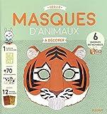 Masques d'animaux à décorer