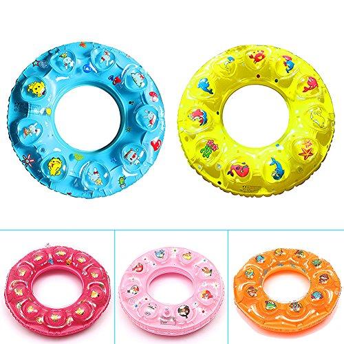Favolook aufblasbare Schwimmringe, schwimmende Ring für Kinder., 60 cm
