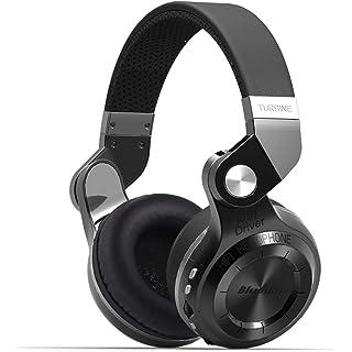 Bluedio T2 Plus Turbine Wireless Bluetooth Headphones  Black