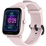 Amazfit Bip U Pro Smartwatch 1,43 inch fitnesstracker met GPS, SpO2, 60+ sportmodi, meting van het zuurstofgehalte en hartsla