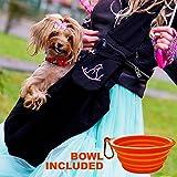 Trasportino per cani di piccola taglia e cuccioli – Trasportino anteriore a tracolla – Borsa da viaggio per trasportare cani dai 6 ai 12 kg