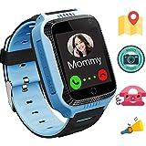 GPS Tracker pour enfant TKSTAR Smartwatch for kids avec la caméra SIM Appel anti-perdido SOS Montre bracelet pour enfants Gar