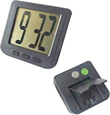 UNIK Digital Car and Table Clock with Big Display
