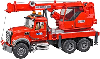 Mack Granite Crane Truck With Light & Sound Module