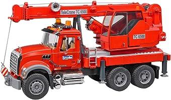 ماك جرانيت شاحنة رافعة مع وحدة تحكم بالضوء والصوت