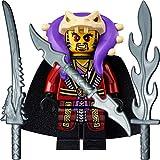 LEGO Ninjago: Minifigur Meister Chen mit Umhang und 3 GALAXYARMS Schwertern