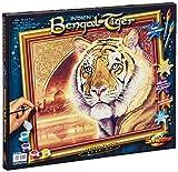 Schipper 609130454 Malen nach Zahlen, Indien Bengal Tiger, 40x50 cm